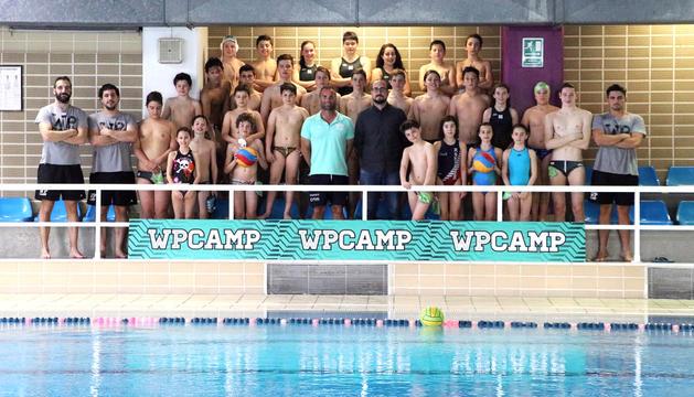 El WP Camp Snow reuneix trenta esportistes
