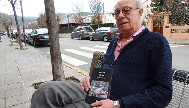 Joan Aguilar i Cla, que publica amb Edicions Salòria el segon poemari.