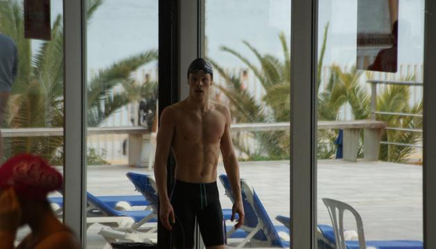 El nedador Bernat Lomero