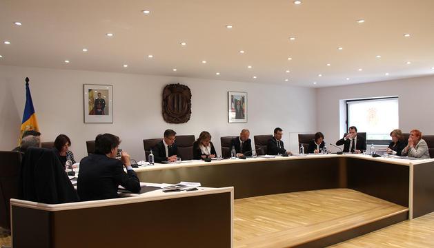 La sessió de consell de comú d'Andorra la Vella
