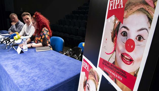 Presentació del Festival internacional de pallasses d'Andorra (FIPA).