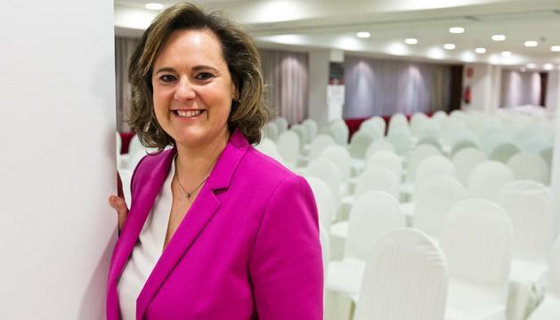 L'escriptora Ludmilla Lacueva