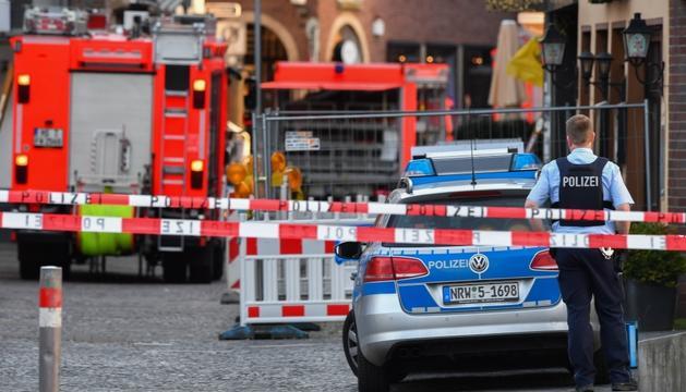 L'atropellament va tenir lloc a la ciutat de Münster.