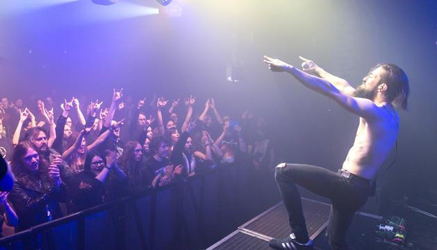 Un dels concerts de la banda andorrana en gira.