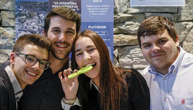 El grup guanyador de la segona edició del projecte Tàndem