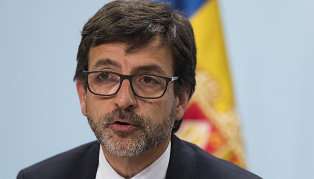 Jordi Cinca en roda de premsa