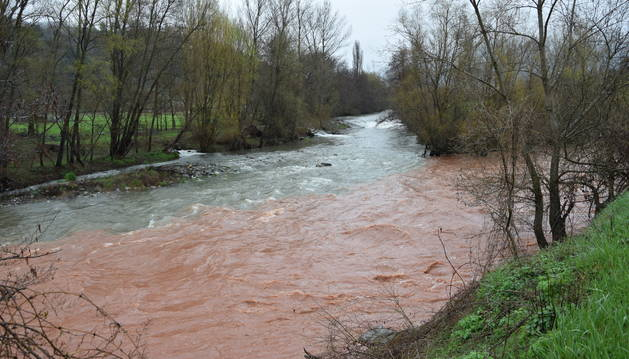 El riu segre, al seu pas per la Seu d'Urgell