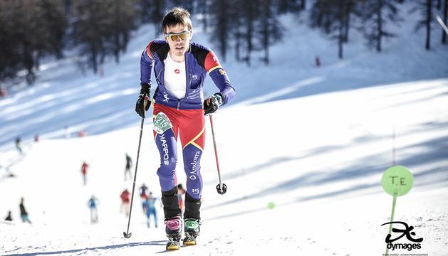 L'esquiador de muntanya Sergi Casabella