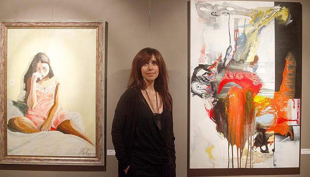 L'artista Eva Martínez 'Zoe'