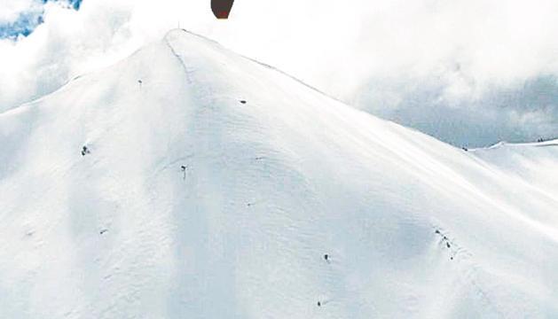 Precaució amb l'esquí de muntanya