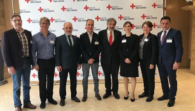 La Creu Roja participa en una trobada a Malta
