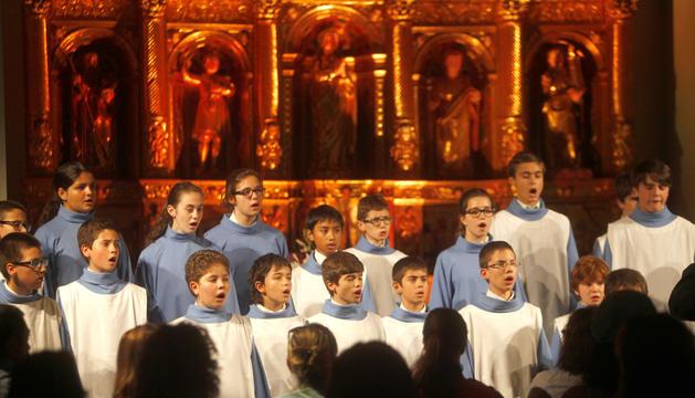 Els Petits Cantors acompanyaran la coral convidada.