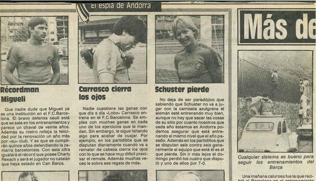 Els mitjans es bolcaven des d'Andorra (86).