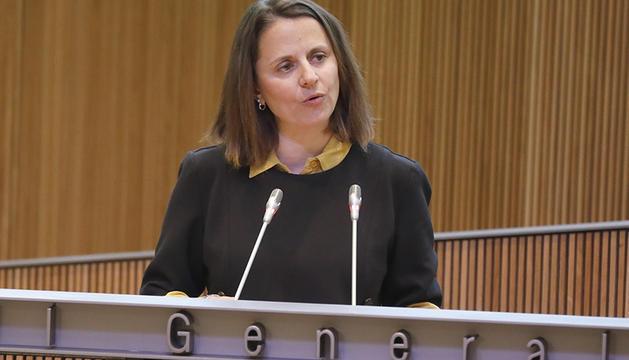 La consellera general del PS, Rosa Gili