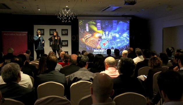 Una 'start up' durant la presentació del seu projecte el 20 de novembre passat.