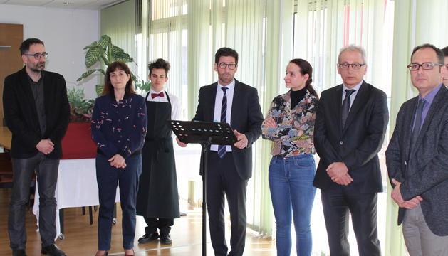 El Lycée signa un conveni de pràctiques amb Autentics Hotels Andorra