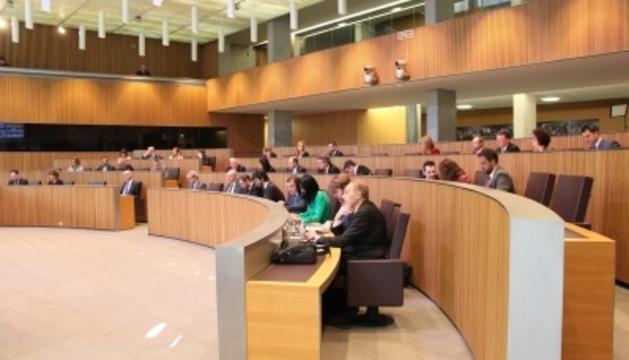 Un moment de la sessió de Consell General celebrada avui