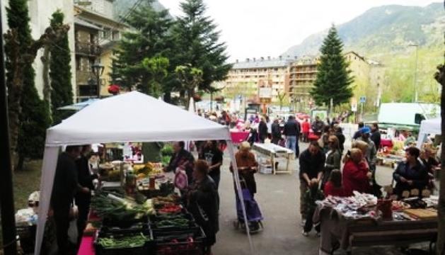 Temporada de mercat a Encamp
