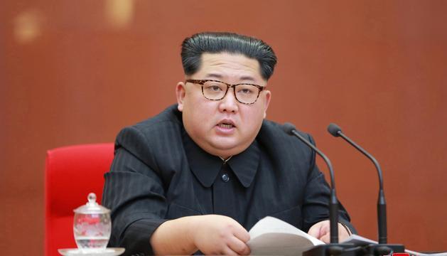 El líder de Corea del Nord, Kim Jong Un.