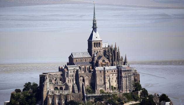 El Mont-Saint-Michel.
