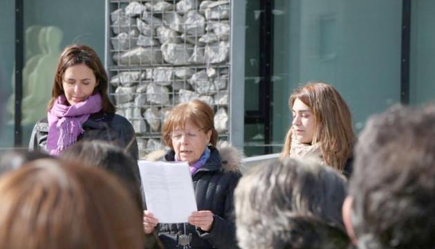 Acció Feminista Andorra a la celebració del dia de la dona