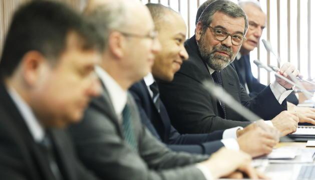 Presentació de l'informe sobre el fons de pensions elaborat per tècnics francesos.