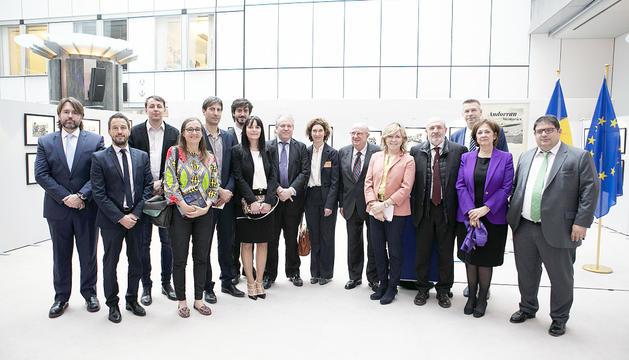 Els consellers a Brussel·les.