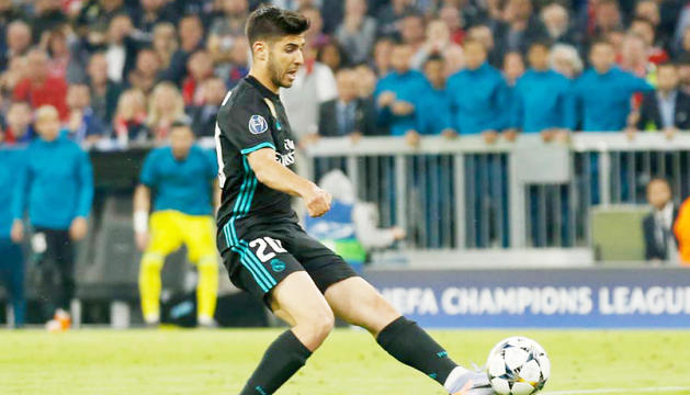 Marco Asensio va fer l'1 a 2 a la segona meitat.