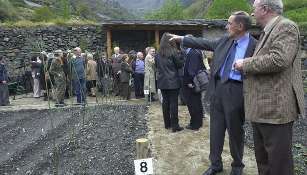 Òscar Ribas va inaugurar el projecte.
