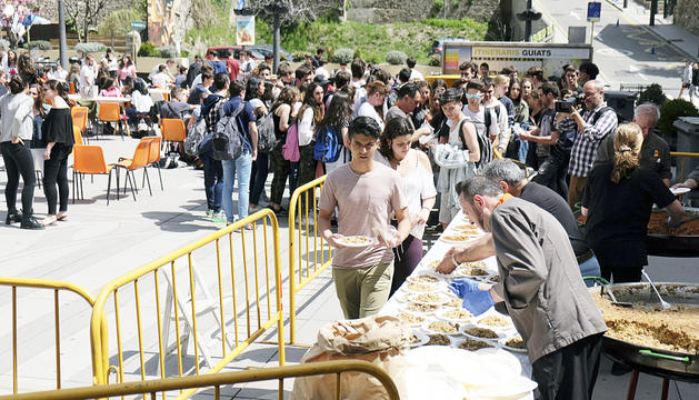 Més de 400 joves, a la jornada de portes obertes de l'uDa