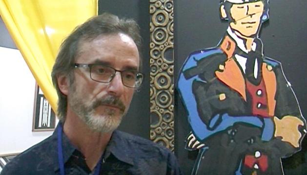 El dibuixant català, al saló La Massana Còmic.
