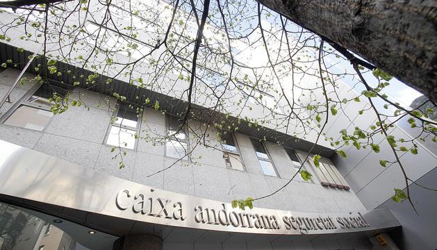 Façana de l'edifici de la CASS.