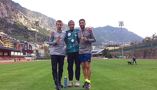 Bernadó i Huerta, campions d'Andorra de 10.000