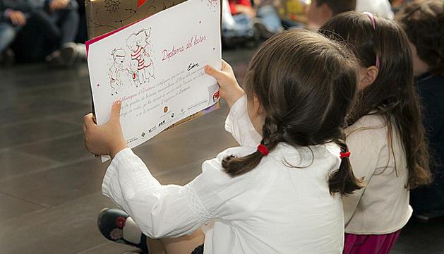 El projecte va néixer per incitar els nens a la lectura.