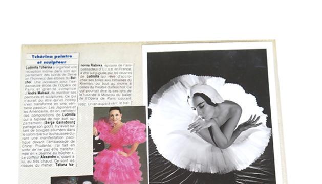 El ballets russos sempre m'han apassionat. A Ludmilla Tcherina li dec el nom.