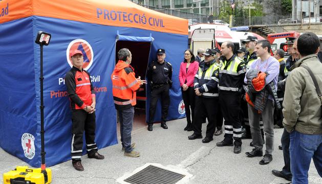 Presentació dels nous equips per a emergències
