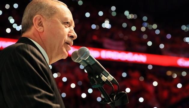 El president turc, Recep Tayyip Erdogan.