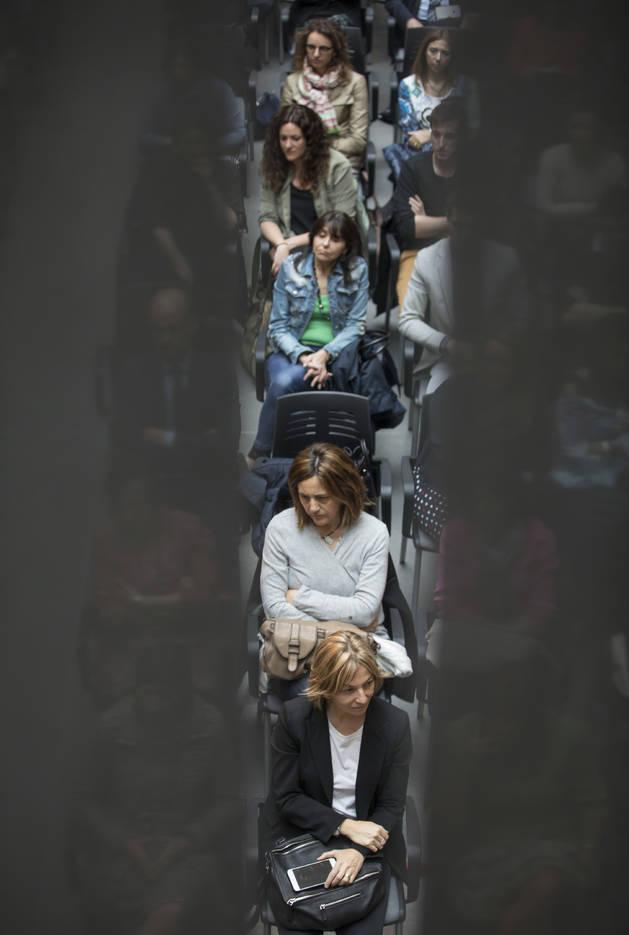 Una imatge dels assistents a l