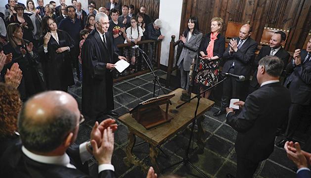 Renovació de càrrecs judicials a la Casa de la Vall