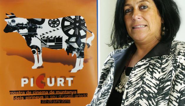 Montserrat Guiu, organitzadora de la mostra.