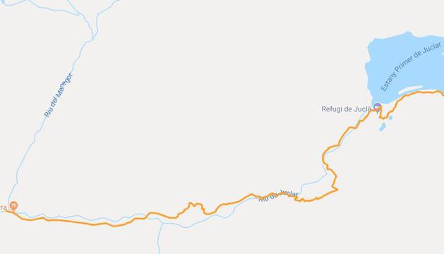 Itinerari d'aquesta ruta de senderisme