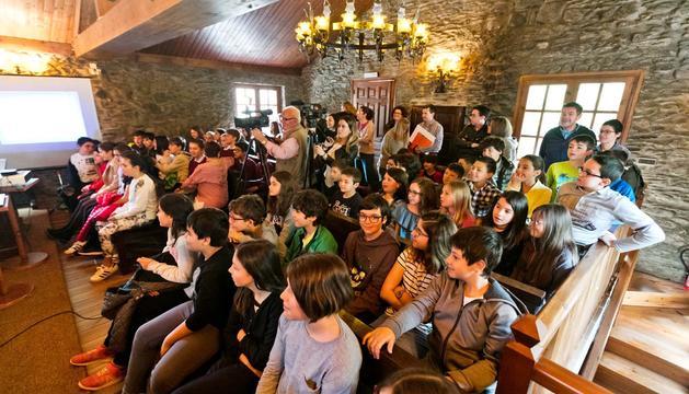 Alumnes dels tres sistemes educatius han assistit al Consell d'infants