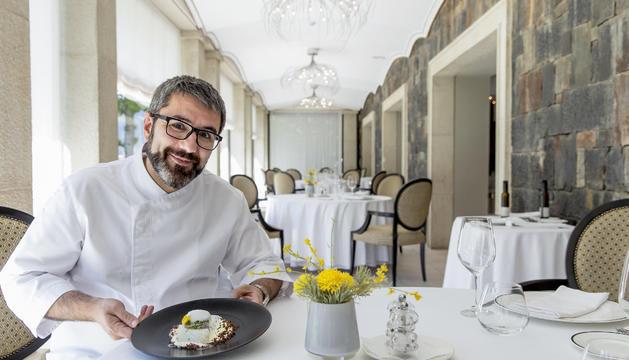 El xef del restaurant Andorra Park Hotel, Marc Mora