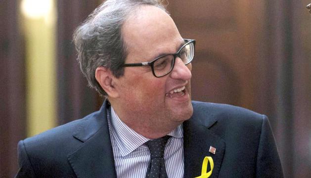Quim Torra va ser designat dijous per Puigdemont com a candidat a presidir la Generalitat.