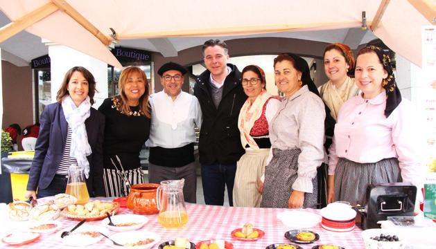 Els cònsols visiten la segona Mostra gastronòmica