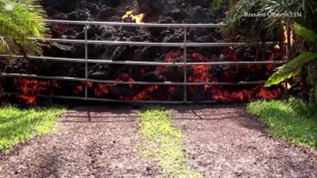 Les conseqüències de l'erupció