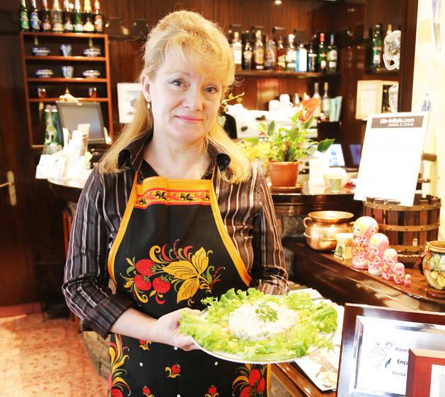 La xef del restaurant El Cresper, Svetlana Stroganoff