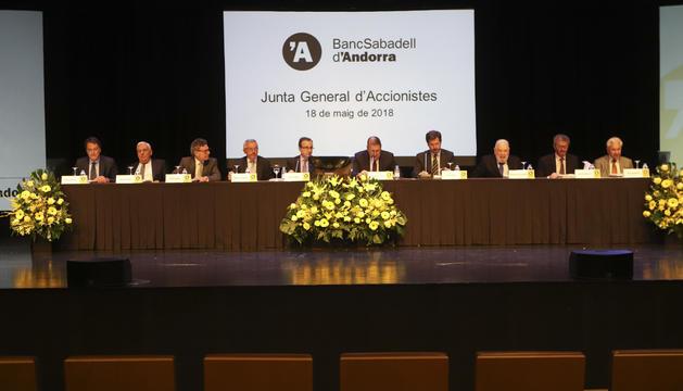 Junta general d'accionistes del BancSabadell Andorra, avui