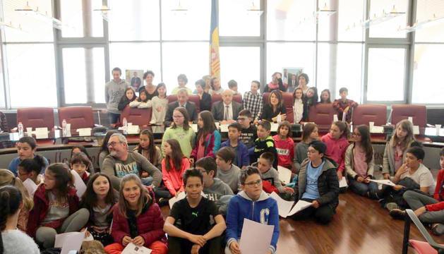 Quinzena sessió del Consell d'Infants de Canillo