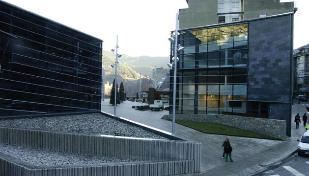 El centre cultural Les Fontetes, a la Massana.